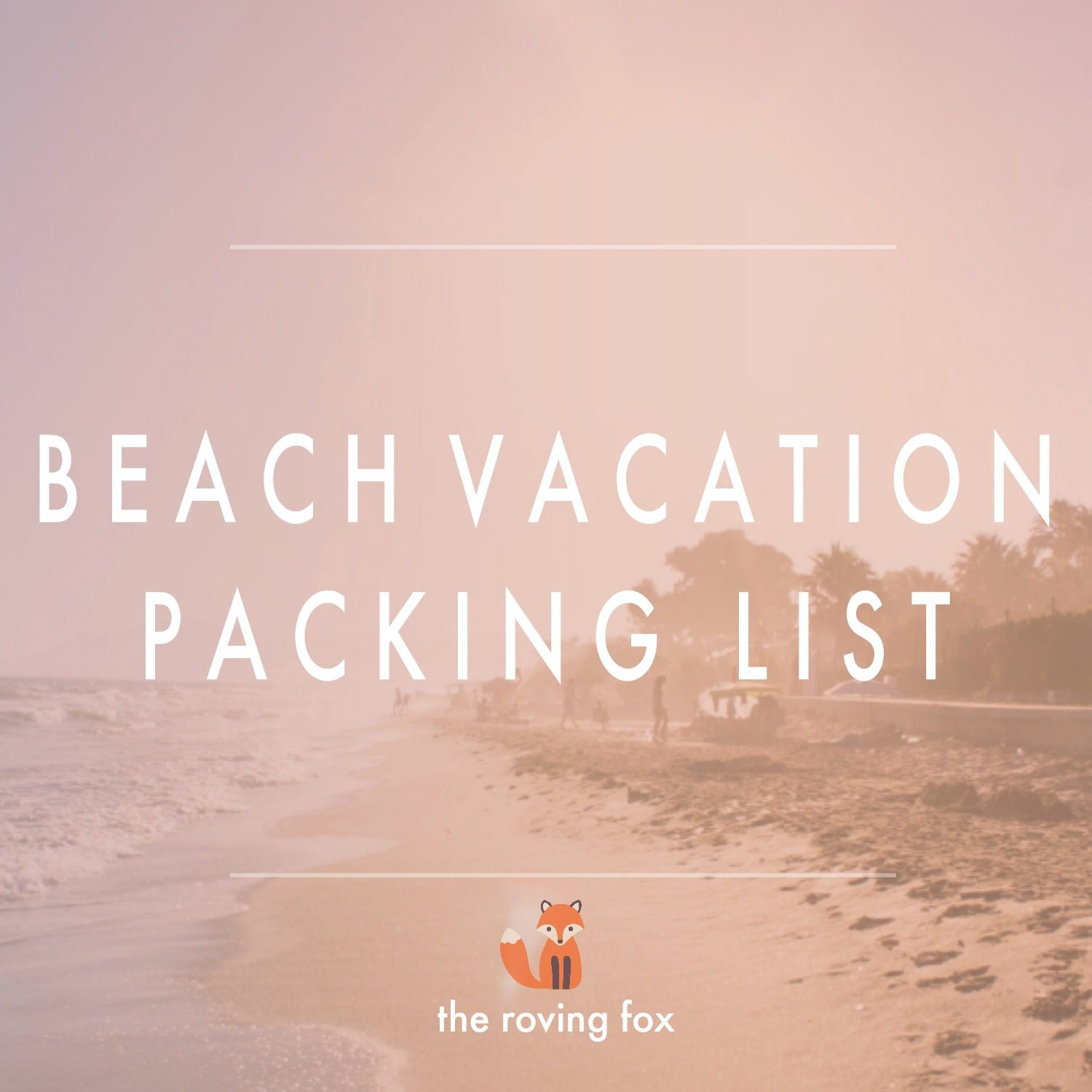 What to pack for a beach vacation | Pack for summer vacation