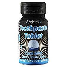 Health and Beauty Travel Kit Essentials Archtek Toothpaste Tablets
