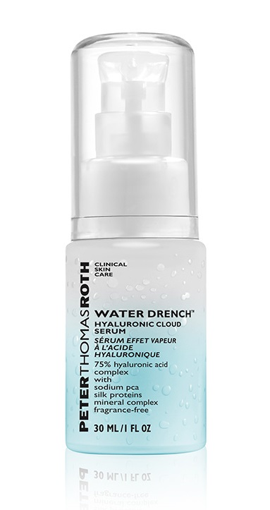 Health and Beauty Travel Kit Essentials Peter Thomas Roth Water Drench Hyaluronic Cloud Serum