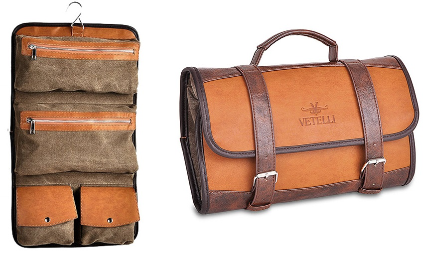 gift ideas for men who travel vetelli Hanging Toiletry Bag for Men