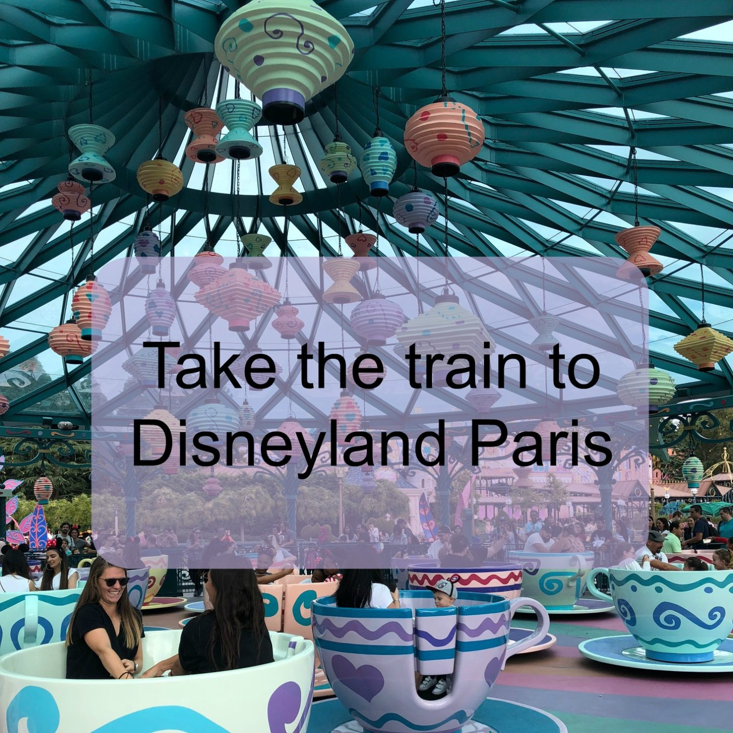 Take the train to Disneyland Paris: Directions and Station Photos