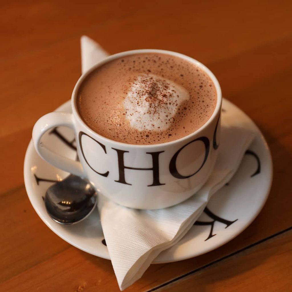 L.A. Burdick hot chocolate in Boston therovingfox.com