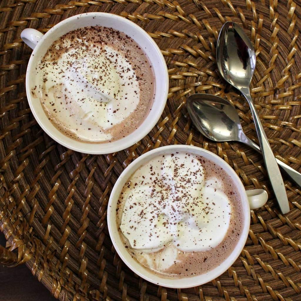taza chocolate hot chocolate in Boston