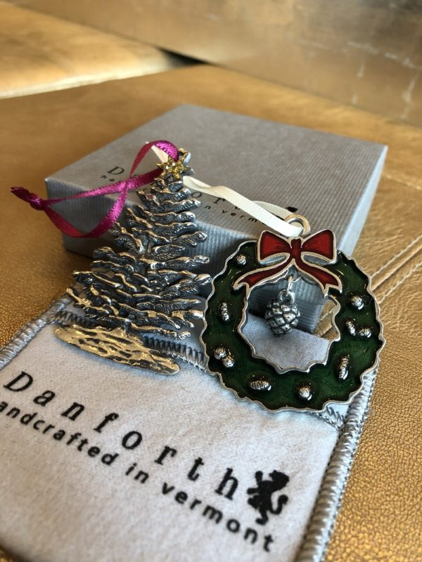 Portland Maine Things To Do Danforth Pewter ornaments