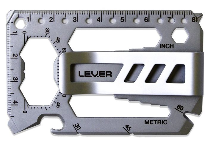 valentines gifts for men Lever Gear Toolcard Pro with Money Clip
