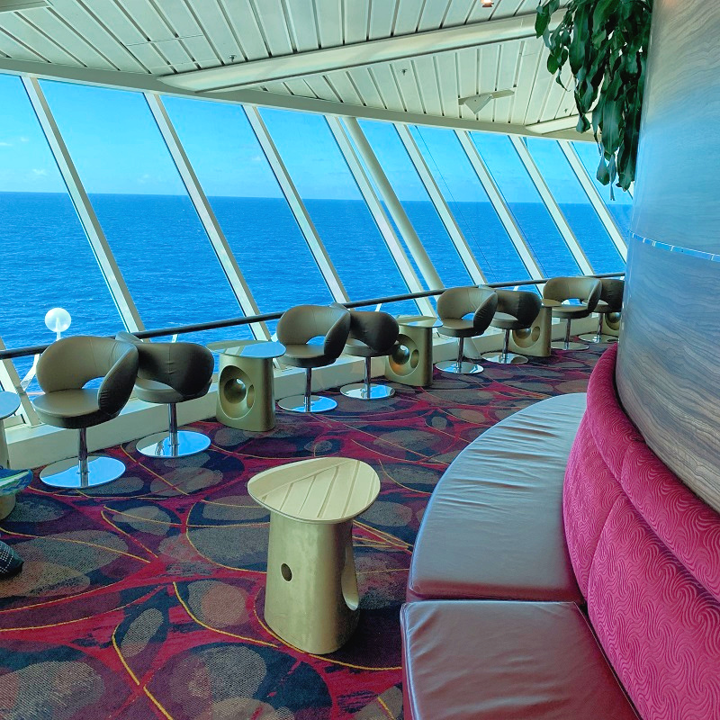 First Time Cruise Tips find quiet places