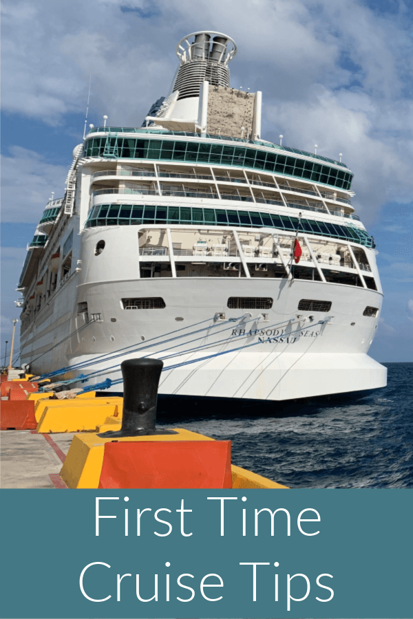 First Time Cruise Tips pinterest